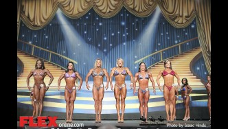 Comparisons - Fitness - 2014 IFBB Europa Phoenix Pro