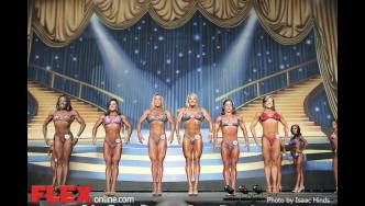 Comparisons - Fitness - 2014 IFBB Europa Phoenix Pro