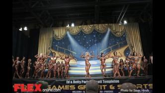 Comparisons - Women's Physique - 2014 IFBB Europa Phoenix Pro