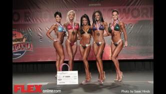 Awards - Bikini - 2014 IFBB Tampa Pro