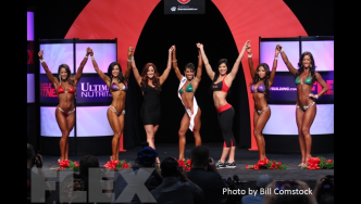 2014 Olympia - Flex Bikini Model Awards