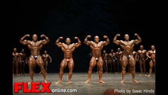 Men's Comparisons - 2012 Masters Olympia