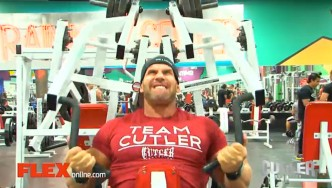 Jay Cutler Trains Back