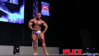 Jose Raymond's Posing Routine at the 2014 IFBB EVLS Prague Pro