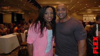 IFBB Womans Bodybuilding Pro Juanita Blaino