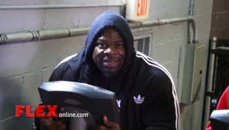 "Kai Greene Gets His ""Mind Right"" Heading into the 2014 Olympia"