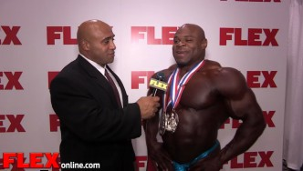 Kai Greene After a Runner-Up Finish at the 2014 Olympia