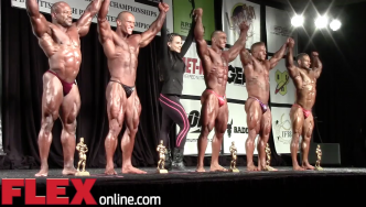 2014 IFBB North American Finals: Light Heavyweights