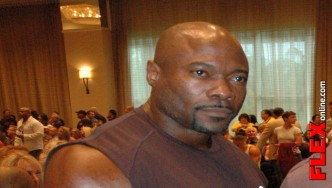 IFBB Pro Lee Banks Interview at 2013 PBW Tampa