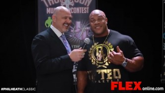 Phil Heath and Lee Thompson Wrap Up