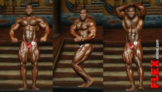 Lionel Beyeke's Posing Routine at the 2013 Dallas Europa Pro