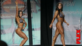 IFBB Figure Pro Mallory Haldeman Winner at 2013 Tampa Pro Interview