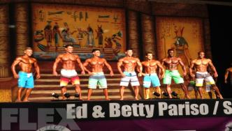 2013 IFBB Dallas Europa Super Show - Men's Physique 1st Call Outs