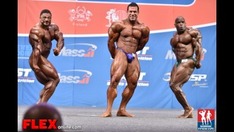 Comparisons - Men's Open - 2014 IFBB Nordic Pro