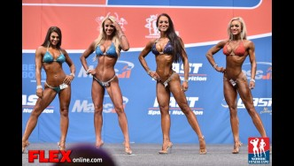 Comparisons - Bikini - 2014 IFBB Nordic Pro