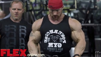 Flex Lewis and Neil Hill Train 2 Weeks Before the 2014 Olympia