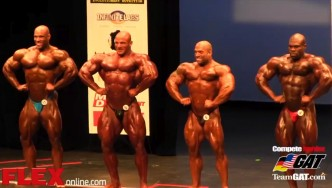 2014 IFBB NY Pro Prejudging: Men's Open Bodybuilding
