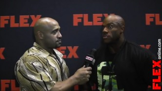 DJ Intervews Phil Heath at the '13 Mr. Olympia Prejudging