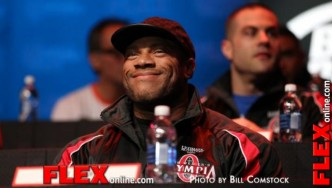 The 2013 Mr. Olympia Press Conference