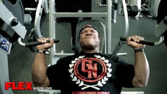 Phil Heath Trains at the Mecca 9 Weeks Before the 2014 Olympia