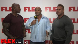 Team FLEX Wraps Up the 2014 Olympia Men's Open Pre-judging