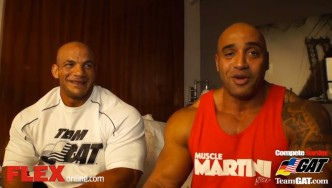 FLEX Exclusive: DJ & Big Ramy 24 Hrs Before the NY Pro!