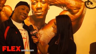 Shawn Rhoden at the Pittsburgh Pro