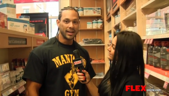 Mark Anthony on the Eve of the 2014 Pittsburgh Pro
