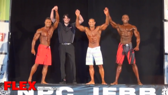 Award Presentations at the 2014 IFBB Pittsburgh Pro