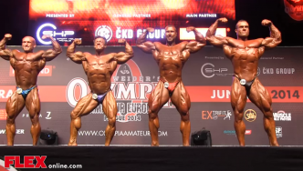 2014 Olympia Amateur Europe: Bodybuilding SUPERFINAL