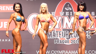 2014 Olympia Amateur Europe: Bikini Up to 163cm