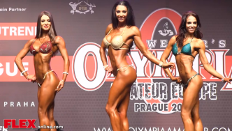 2014 Olympia Amateur Europe: Bikini Over 168cm