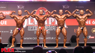 2014 Olympia Amateur Europe: Bodybuilding up to 90kg PART 2
