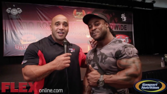 William Bonac at the 2014 Tampa Pro Check-Ins