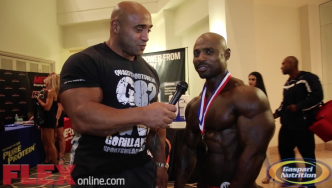 Marvin Ward After His 2nd Place Finish at the 2014 Tampa Pro