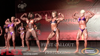 Women's Bodybuilding Prejudging Highlights at the 2014 Tampa Pro