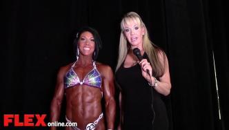 2014 Olympia: Shannon Dey Interviews Dana Linn Bailey