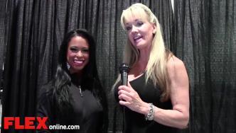 2014 Olympia: Shannon Dey Interviews India Paulino