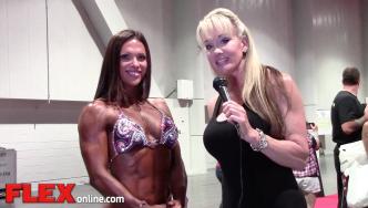 2014 Olympia: Shannon Dey Interviews Oksana Grishina