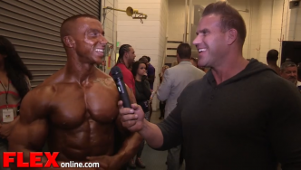 Jay Cutler and the Baltimore Classic Overall Champ, Doug Miller
