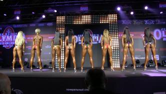 2014 Bikini Power Pro Show Moscow, Part 1