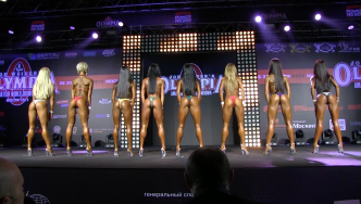 2014 Bikini Power Pro Show Moscow, Part 1
