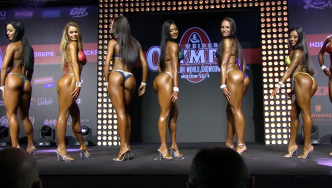 2014 Bikini Power Pro Show Moscow, Part 2