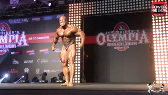 Phil Heath at the 2014 Amateur Olympia, Moscow
