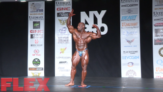 2016 New York Posing Routine: Dexter Jackson