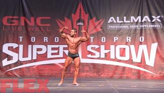 2016 Toronto Pro Classic Physique Routine: AJ Shukoori