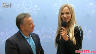 IFBB President Rafael Santonja at the 2016 Olympia Amateur Spain