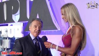 IFBB President Rafael Santonja Wraps Up the 2016 Olympia Amateur Spain