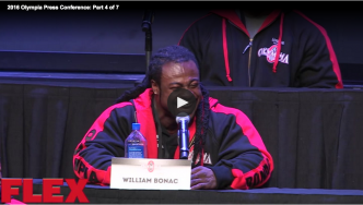 2016 Olympia Press Conference: Part 4 of 7