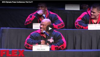 2016 Olympia Press Conference: Part 6 of 7